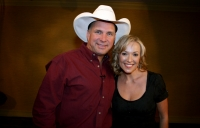 Garth Brooks with Katie Cook.
